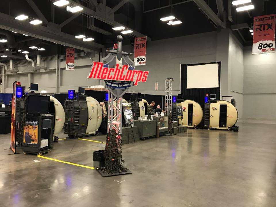 MechCorps is waiting for you at the Rooster Teeth Expo in Austin, TX this weekend!