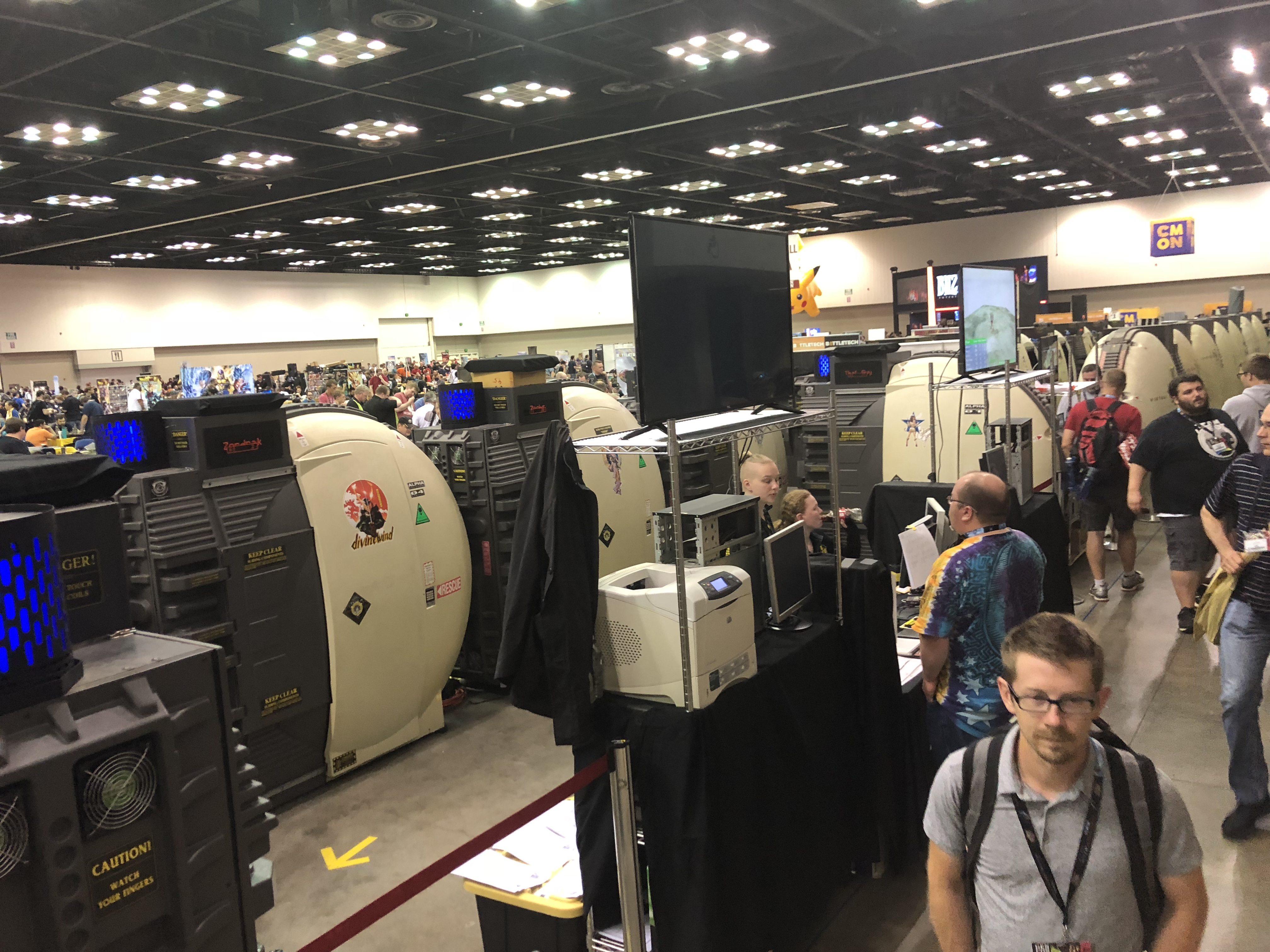 21 pods sighted at GenCon Indy