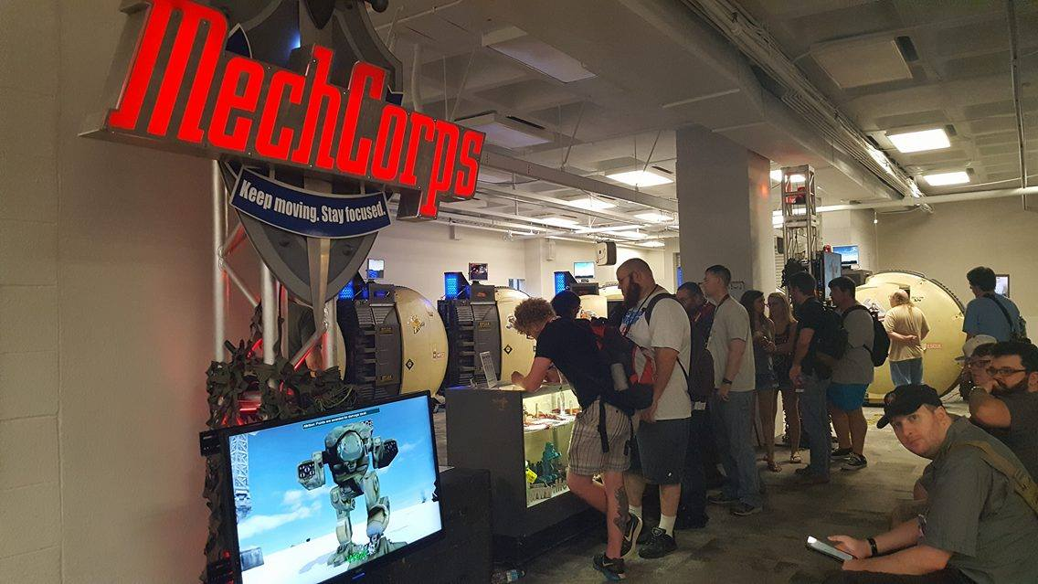 MechCorps is cleared for deployment at Dragon*Con!